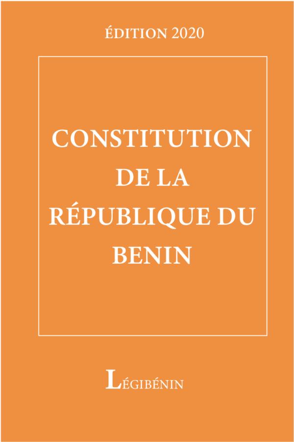 Constitution de la République du Bénin