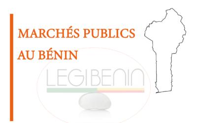 Marché public au Bénin : les négociations sont-elles admises ?