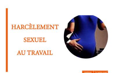 Harcèlement sexuel au travail: quelles portes de sortie pour la victime?