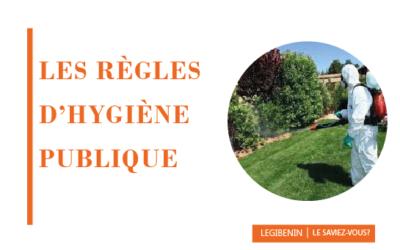 Règles d'hygiène publique: les infractions et les sanctions