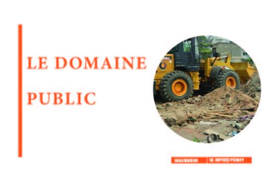 Occupation du domaine public