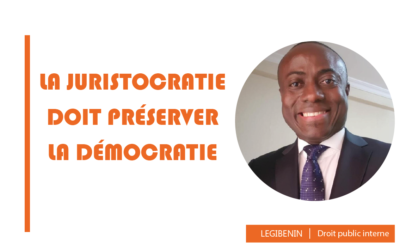 La juristocratie doit préserver la démocratie – Horace Adjolohoun