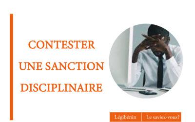Contester une sanction disciplinaire: la procédure