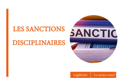 Sanctions disciplinaires : les garanties du fonctionnaire