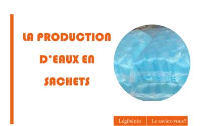 Production d'eau en sachet: quelle autorisation demander?
