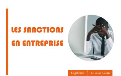 Quelles sanctions appliquer en entreprise ?