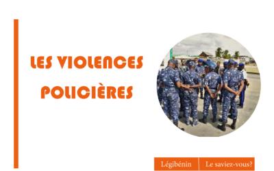 Que peut faire la victime d'une violence policière?
