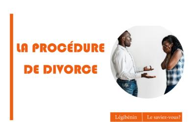 La procédure de divorce au Bénin