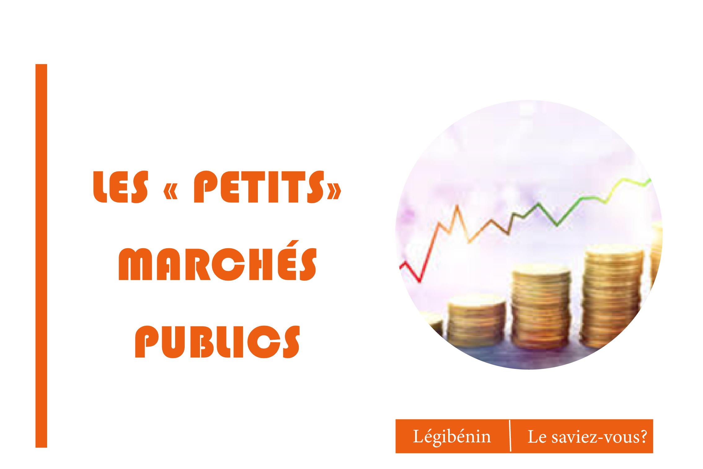 Petits marchés publics