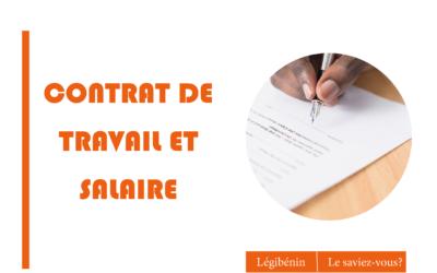 Contrat de travail et salaire: les règles de paiement