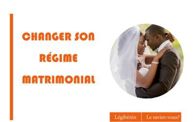 Le changement de régime matrimonial est-il possible ?