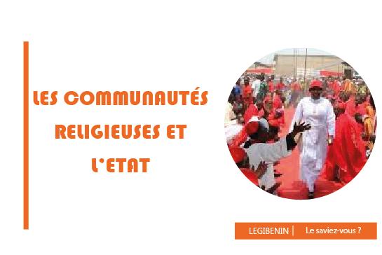 communautés religieuse